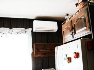 This Mitsubishi Electric Ductless is perfectly nestled in this customer's kitchen.t