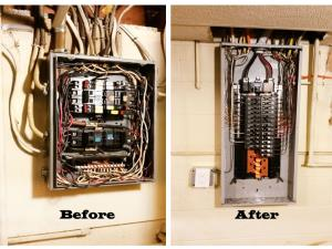 A service panel upgrade isn't a problem for Kresge Electric!?
